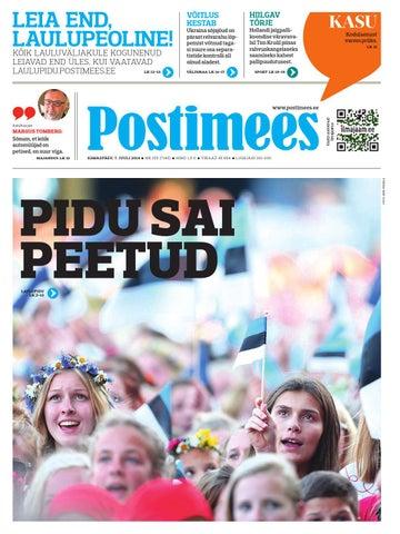 b5119377af2 Postimees 07 07 2014 by Postimees - issuu