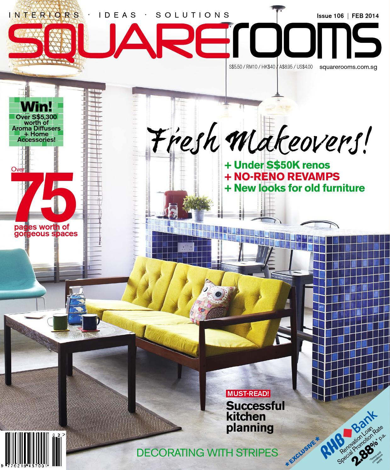 Squarerooms Issue 106 February 2017