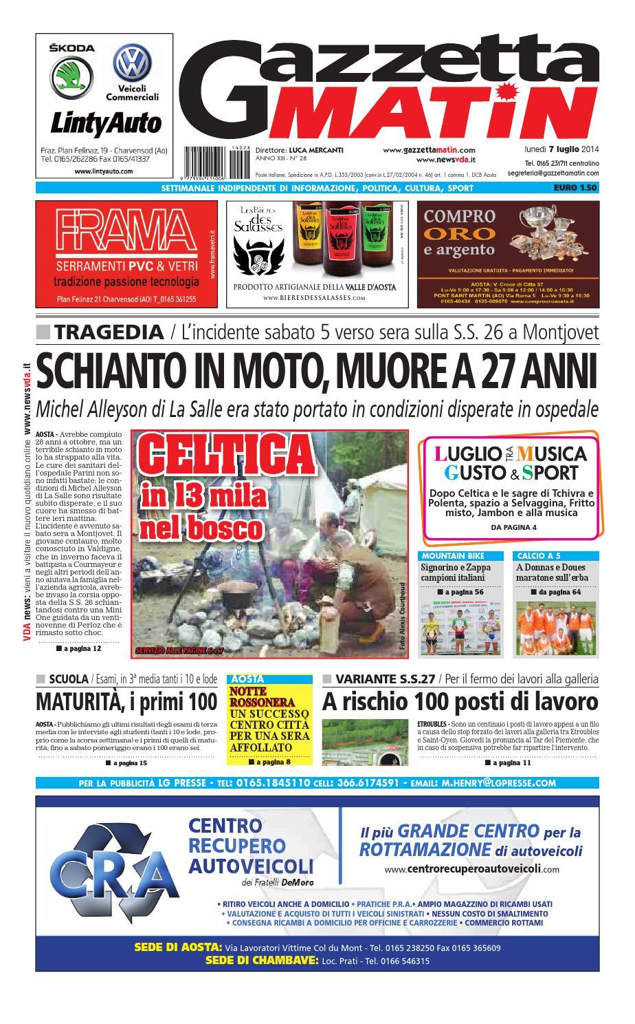 Gazzetta Matin del 07 luglio 2014 by Luca Mercanti - issuu 4a4a5a648740