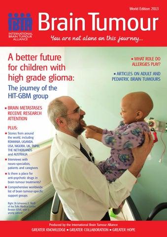 Brain Tumour Magazine World Edition 2013 By The International Brain