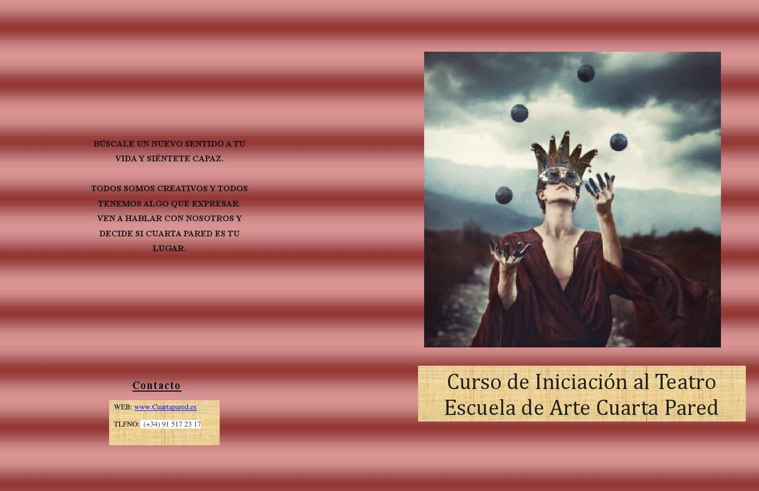Diptico original by AnaEsyTic - issuu