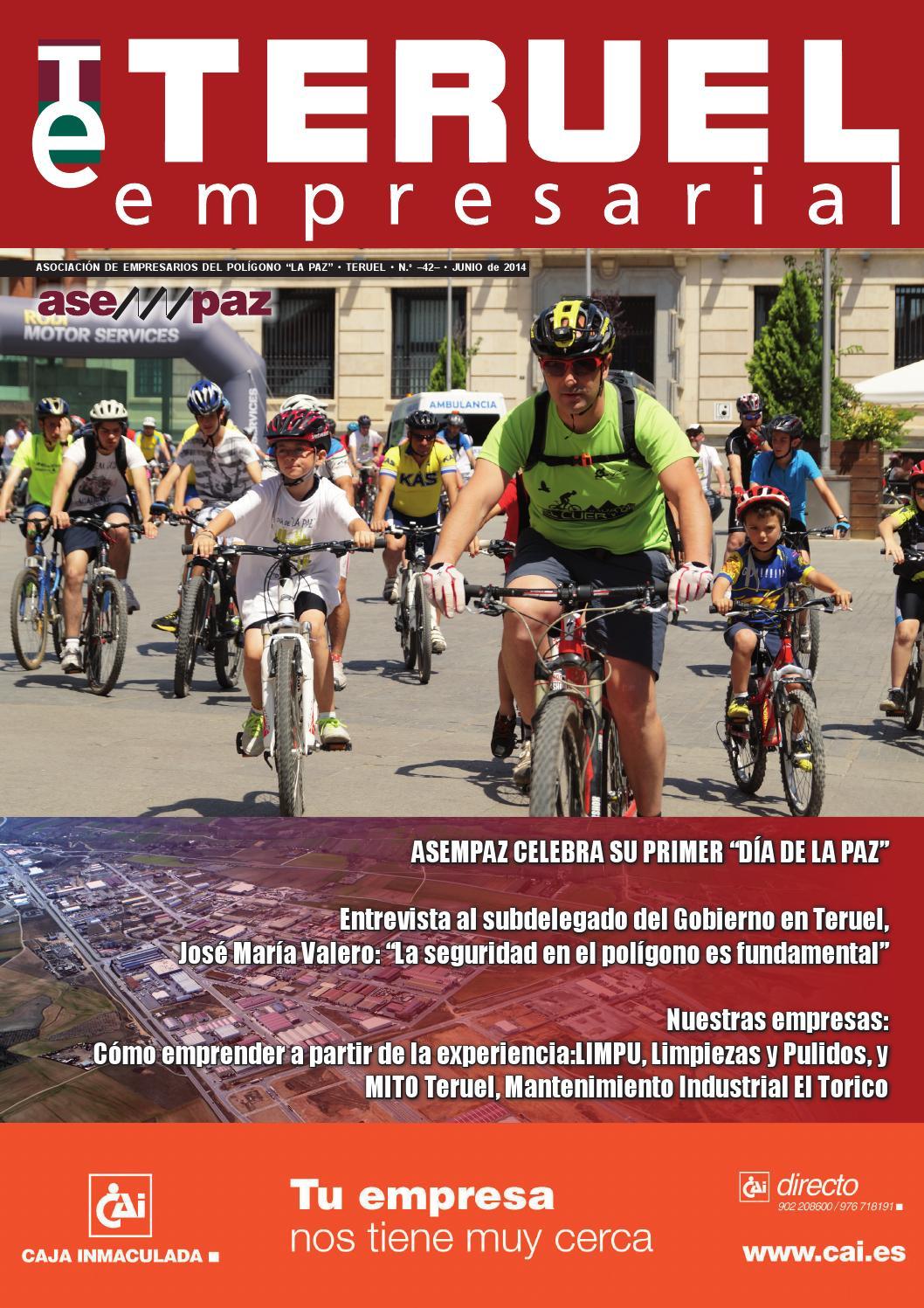Revista Teruel Empresarial N 42 Junio 2014 By Asempaz Asoc De  # Muebles Jover Teruel