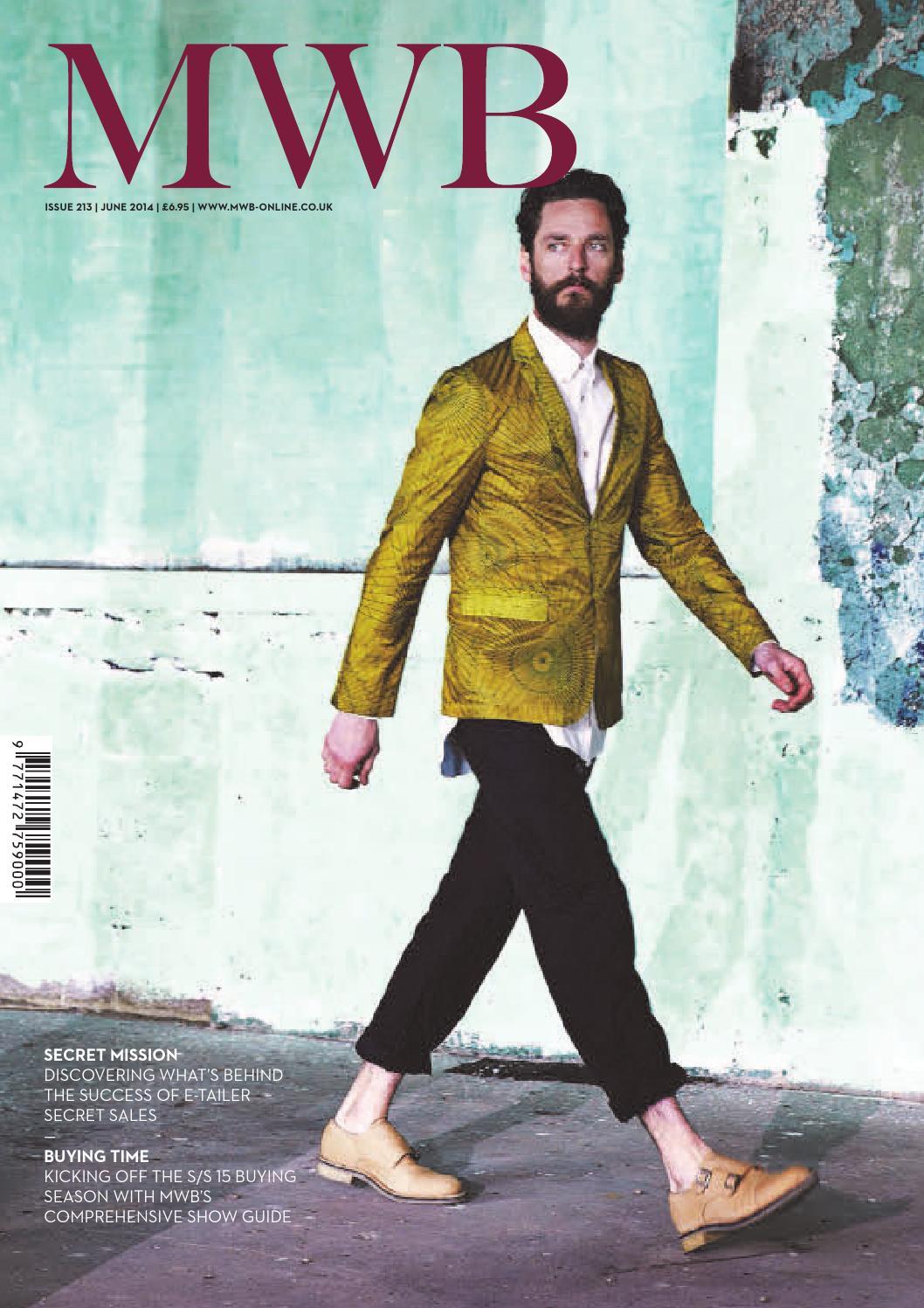 new concept e85ef 1edde MWB MAGAZINE JUNE ISSUE 213 by fashion buyers Ltd - issuu