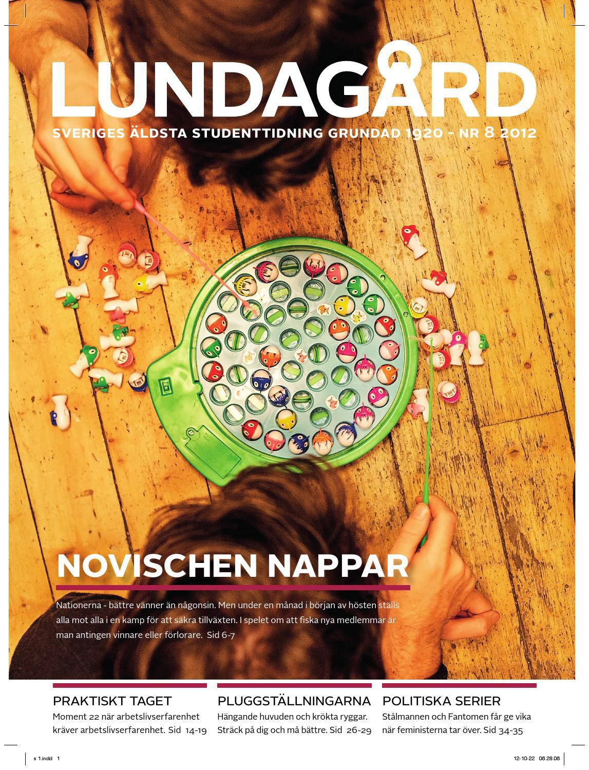 Lundagård 2012 nr8 by Tidningen Lundagård - issuu 72044b66480a7