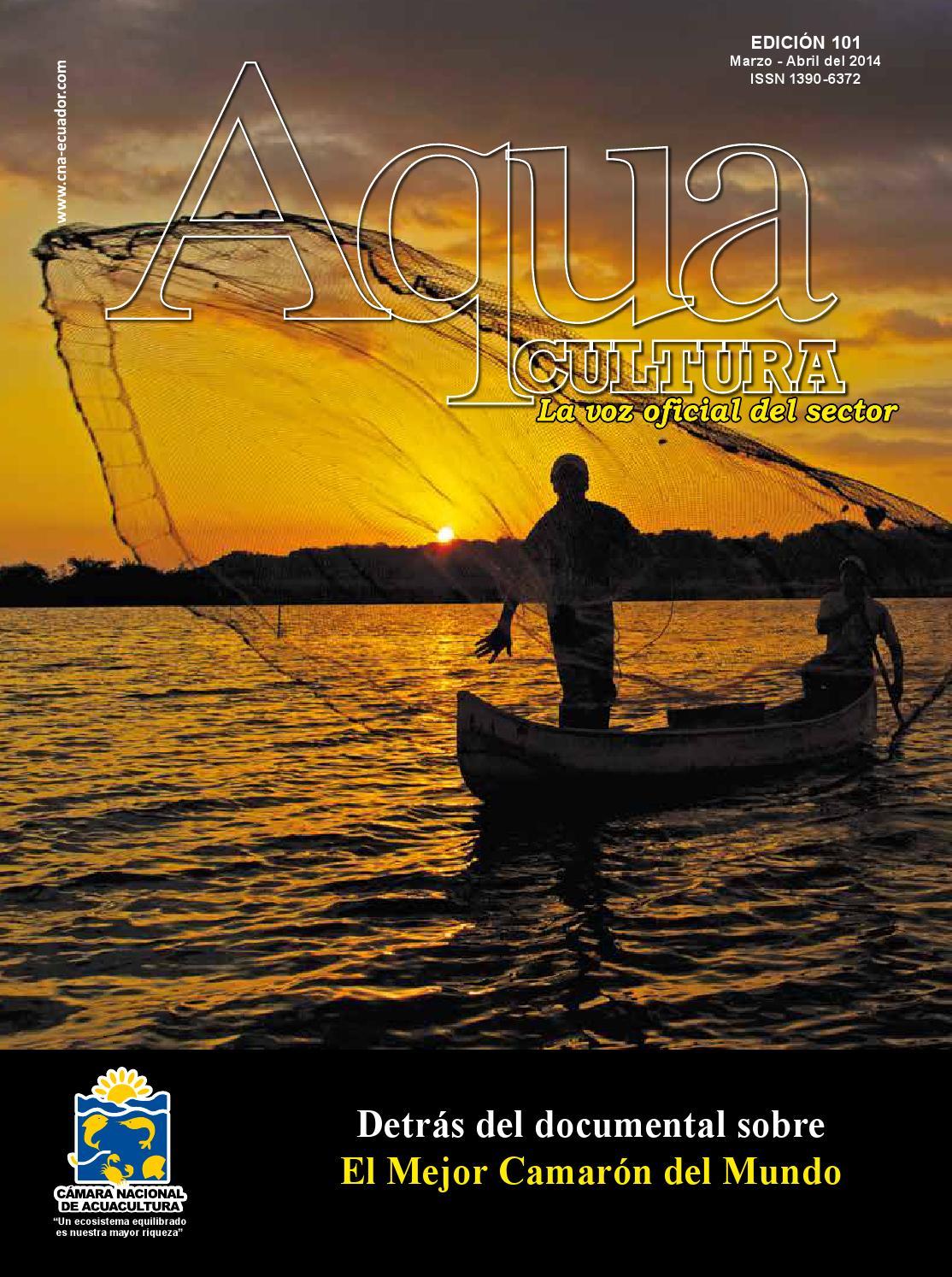 AQUA Cultura, edición # 101 by REVISTA AQUACULTURA - Cámara Nacional ...