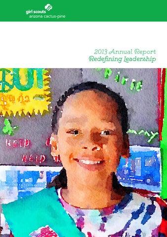 Girl Scouts–Arizona Cactus Pine Council 2013 Annual Report