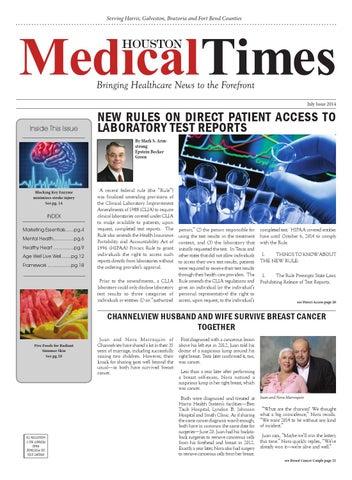 Houston Medical Times By Rick Delarosa Issuu
