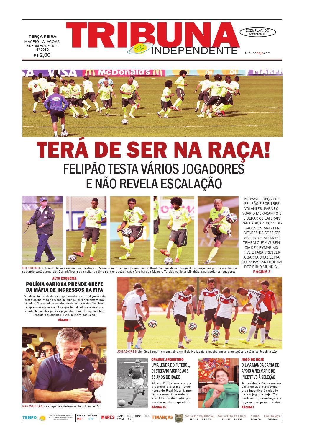 Edição número 2089 - 8 de julho de 2014 by Tribuna Hoje - issuu 33e4ff811c1