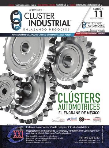 Edición 11  Julio-Agosto 2014 by Cluster Industrial - issuu 147fcb003bd48
