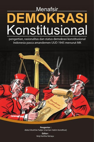 Menafsir Demokrasi Konstitusional By Tifa Foundation Issuu
