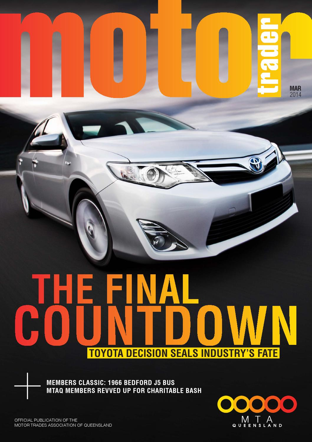 Motor Trader March 2014 By Mtaq It Issuu Reece Wiring Harness Toyota