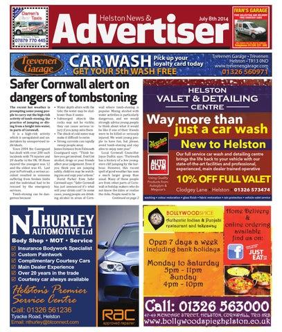 Helston News Advertiser 8th July 2014 By Helston Advertiser Issuu