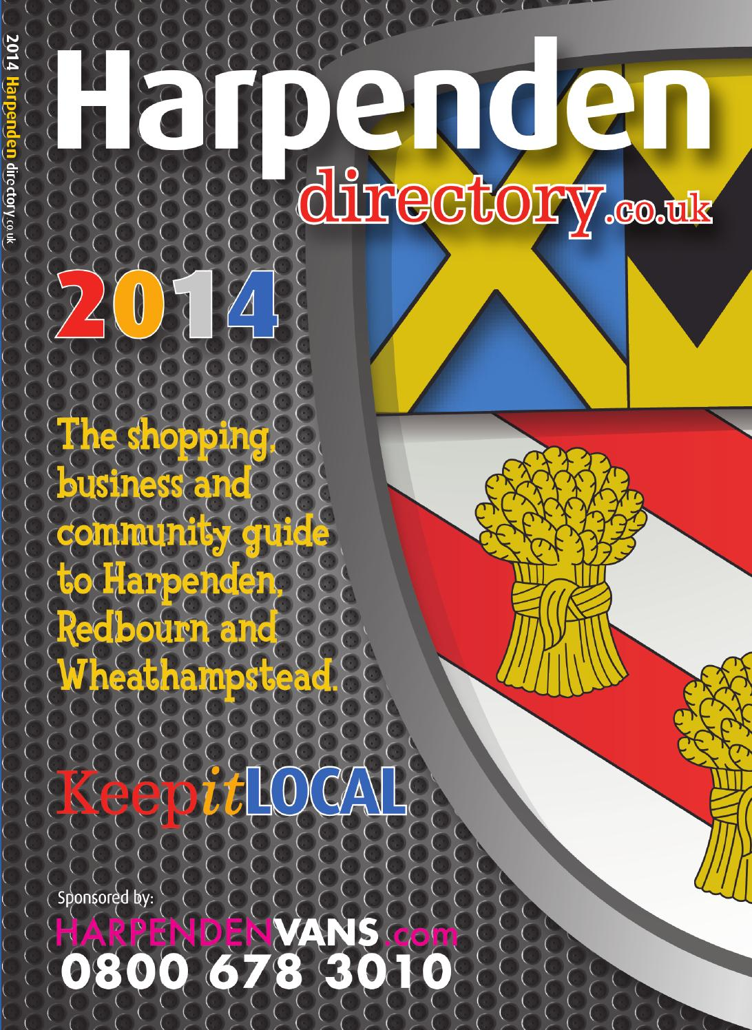 Harpenden Annual Directory 2014 By What S On Herts