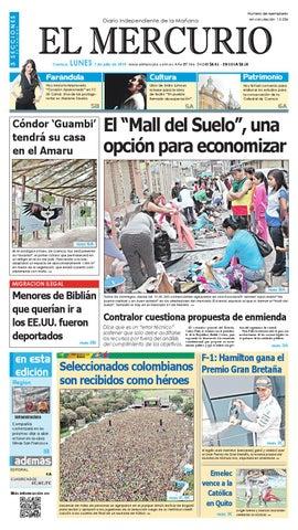 f3b15da938 hemeroteca 07-07-2014 by Diario El Mercurio Cuenca - issuu