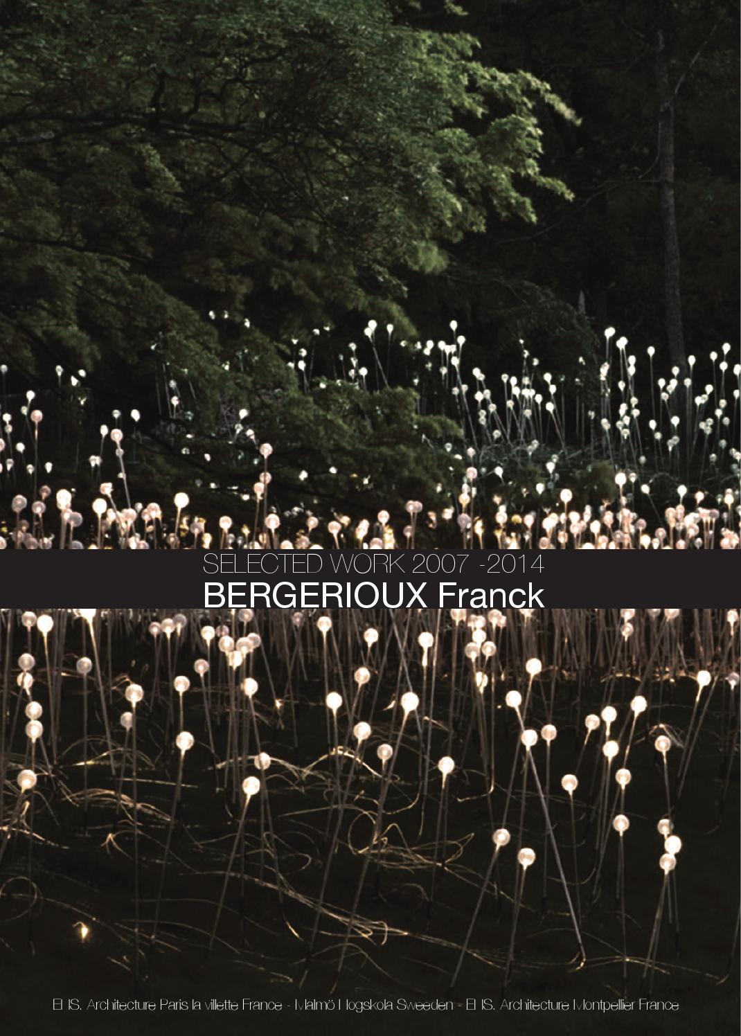 book 2014 bergerioux franck by franck bergerioux issuu. Black Bedroom Furniture Sets. Home Design Ideas