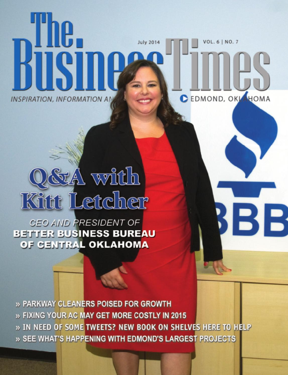 Business Times Of Edmond July 2014 By Business Times Of Edmond  # Muebles Jenny Scheihing
