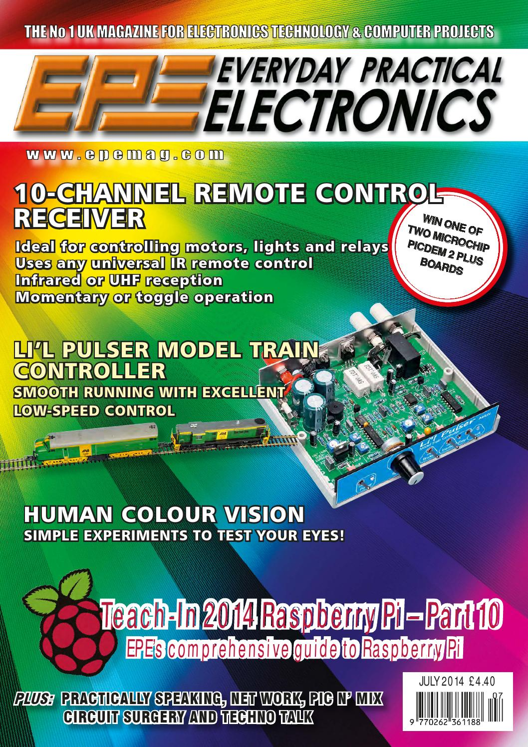 Everyday Practical Electronics 2014 07 By Yurgen Issuu Audio Kit Digital Thermometer With Pic16f84 Circuit