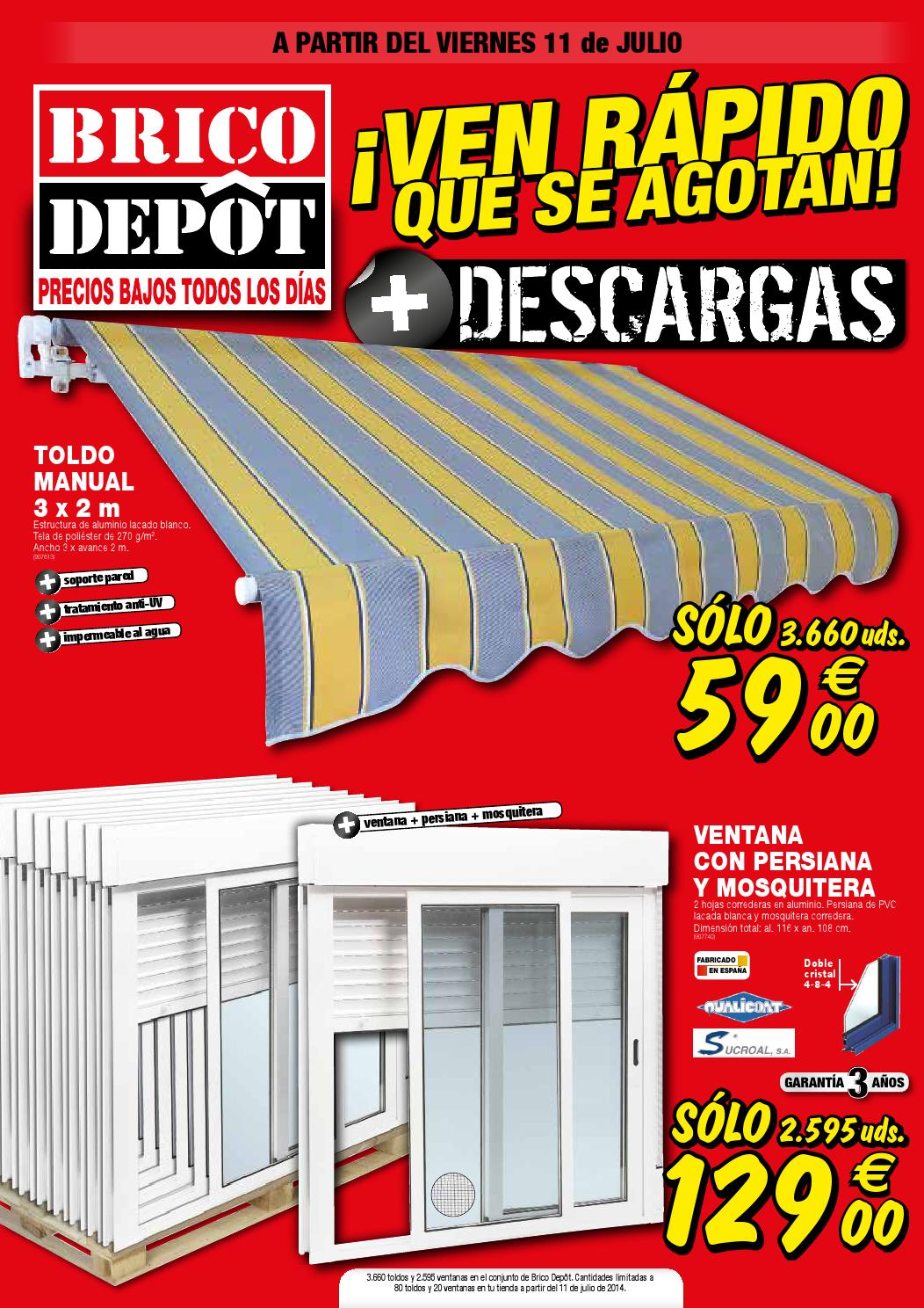 Catalogo bricodepot julio 2014 by luis gastreet issuu - Cenadores bricodepot ...