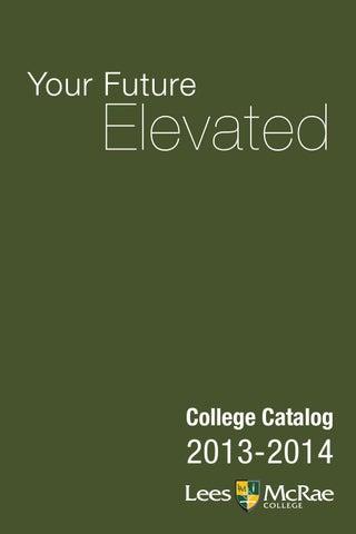 Lees Mcrae Campus Map.Lees Mcrae Course Catalog 2013 2014 By Lees Mcrae College Issuu