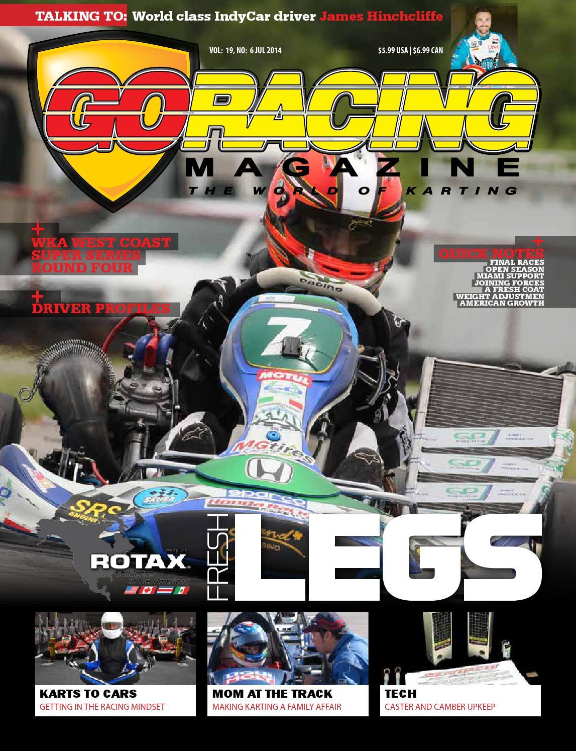 Go Racing Magazine, July 2014 by Go Racing Magazine - issuu