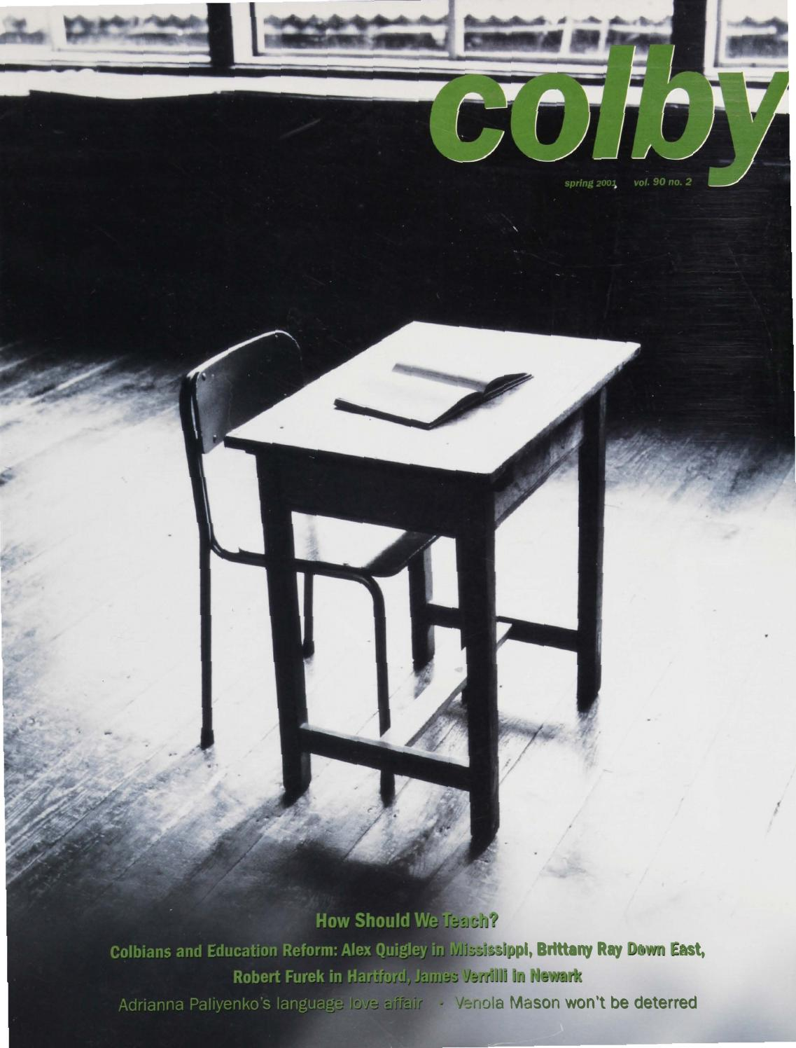Colby Magazine Vol 90 No 2 By College Libraries Issuu Voucher Belanja Di Sarah Nursery Rp 100000