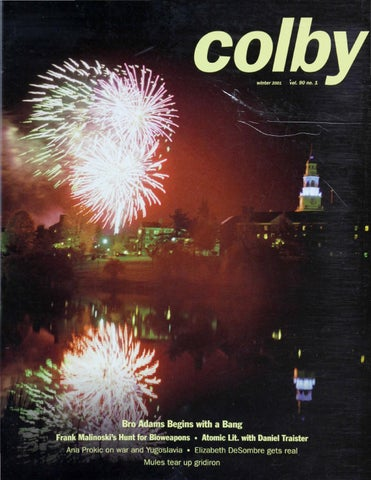 foto de Colby Magazine vol. 90, no. 1 by Colby College Libraries - issuu
