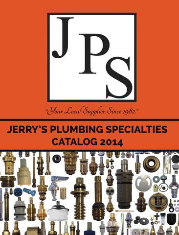 Jerry S Plumbing Specialties Plumbing Catalog 2014 By