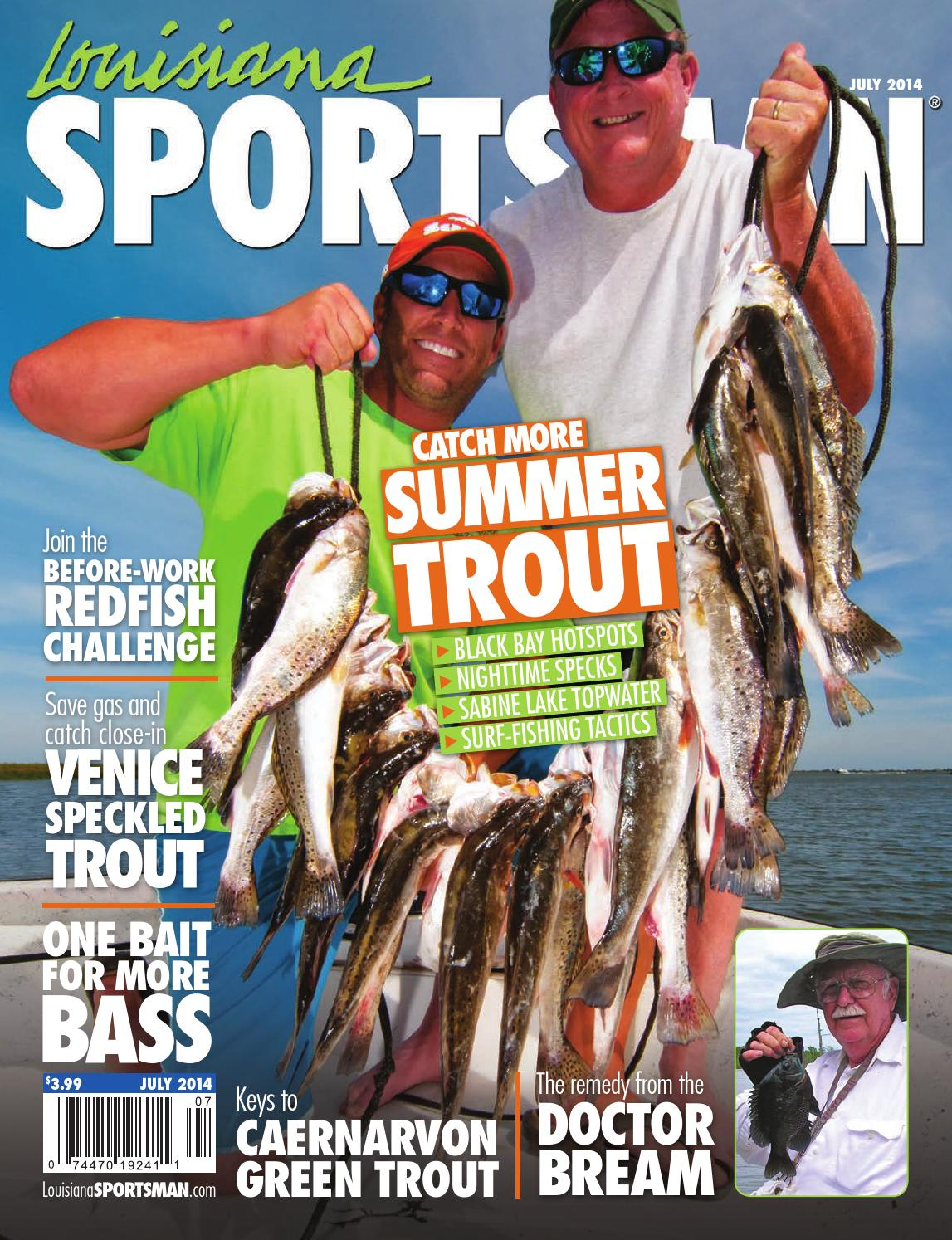 Louisiana Sportsman Magazine - July 2014 by Louisiana