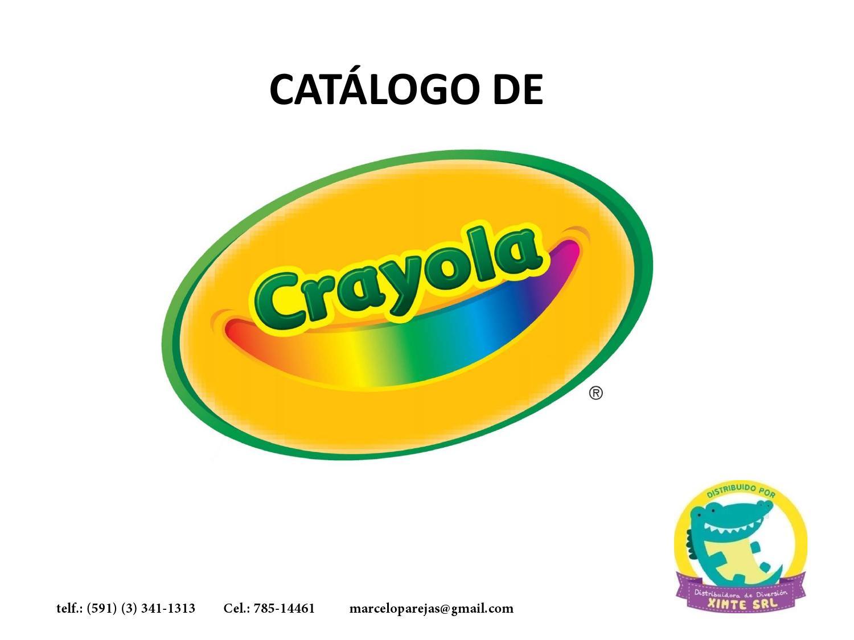 Catalogo de Crayola by marcelo parejas - issuu