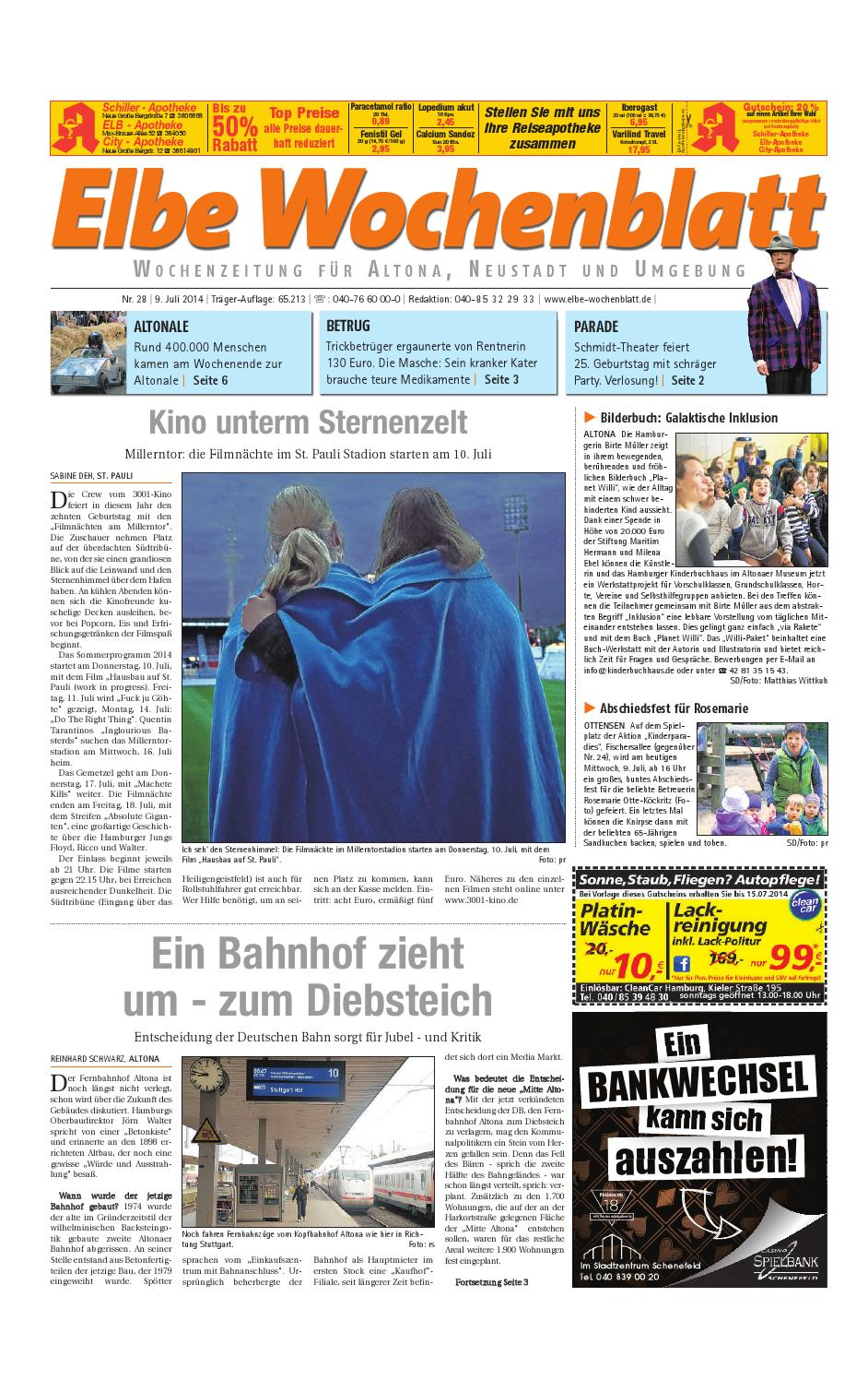 fff9c4bf44684b Altona KW28-2014 by Elbe Wochenblatt Verlagsgesellschaft mbH   Co.KG - issuu