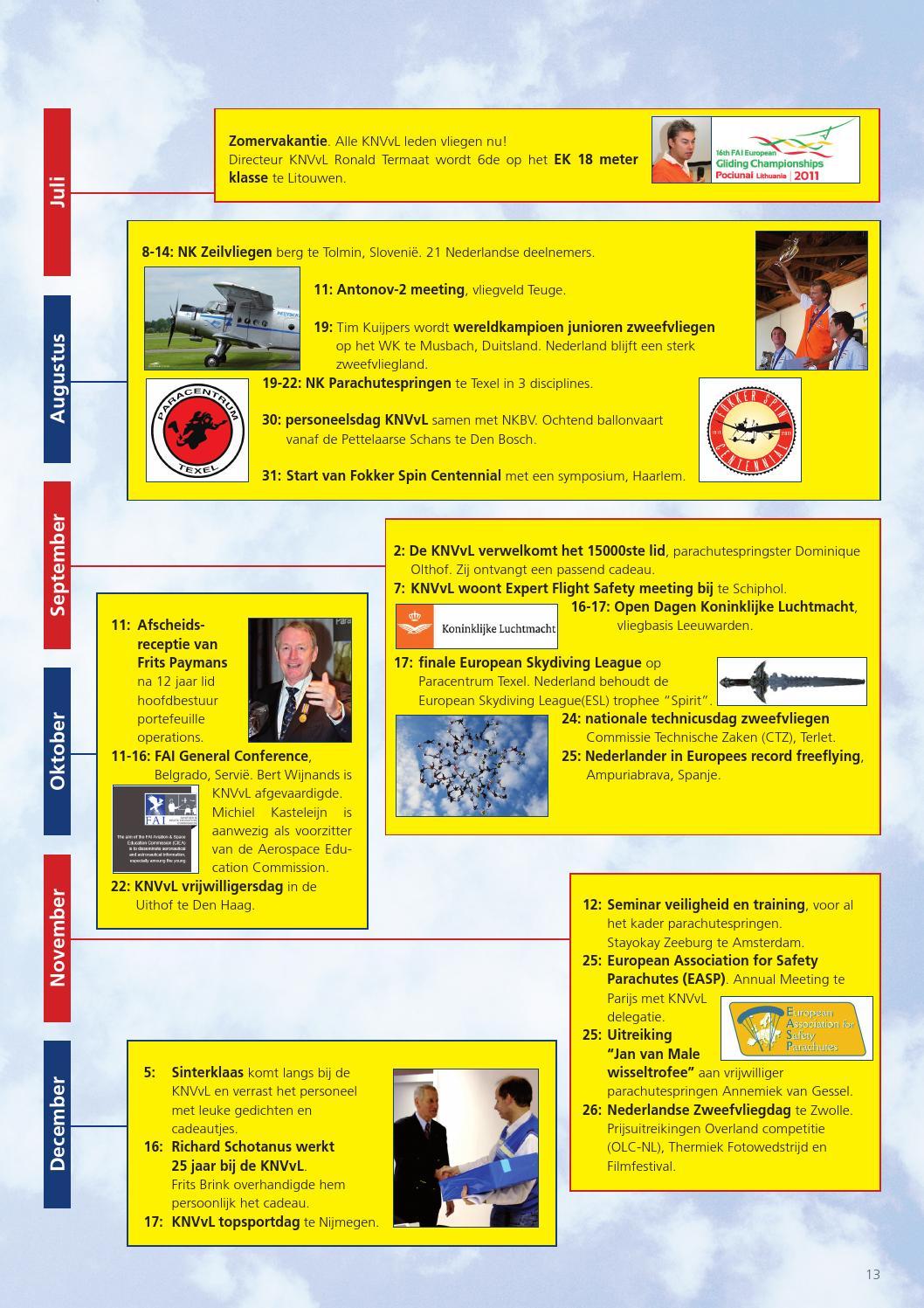 Jaarverslag Knvvl 2011 By Koninklijke Nederlandse Vereniging