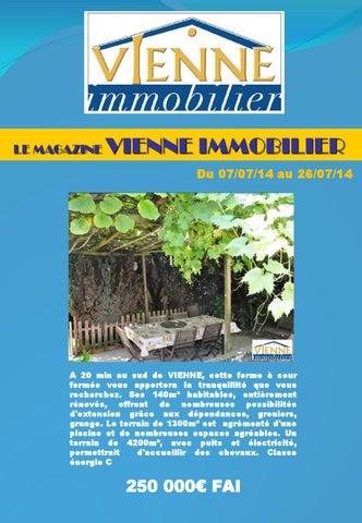 b0d9e2d94cd9 Magazine vienne immobilier du 07 07 14 au 26 07 14