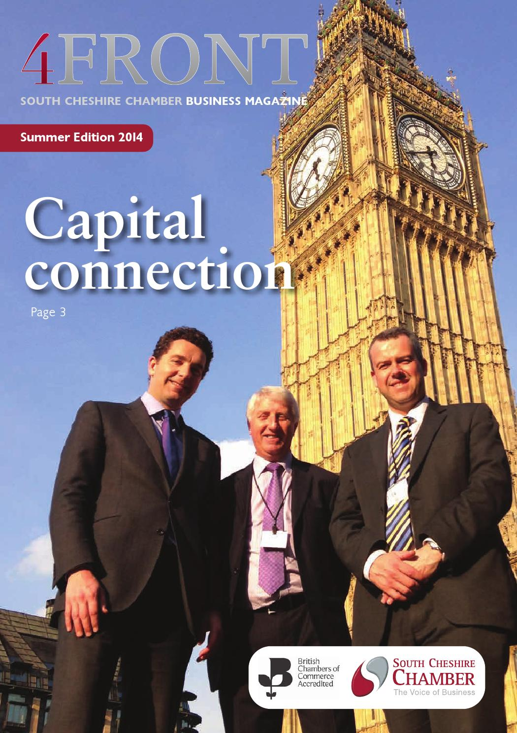 4FRONT Magazine (Summer 2014 Edition) by South Cheshire Chamber - issuu