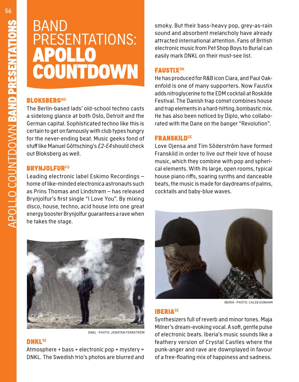 Roskilde Festival 14 – The Guide by Roskilde Festival - issuu
