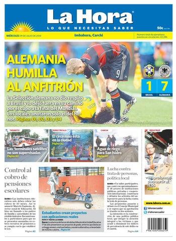 Imbabura 9 julio 2014 by Diario La Hora Ecuador - issuu 7ed365c7d12