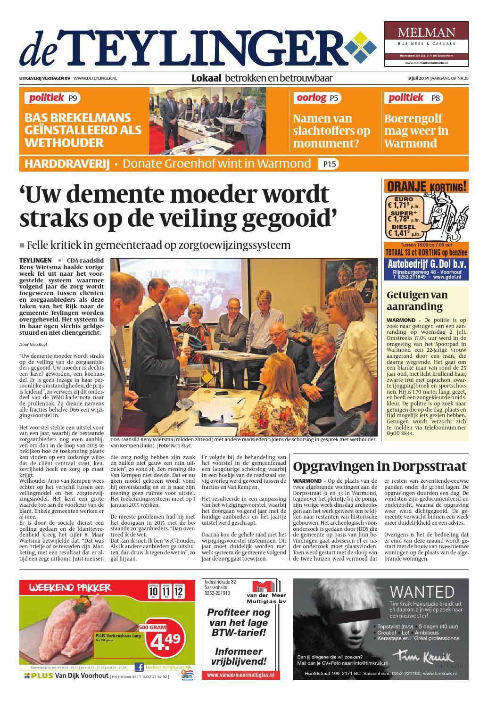 Tl week 28 14 by Uitgeverij Verhagen issuu