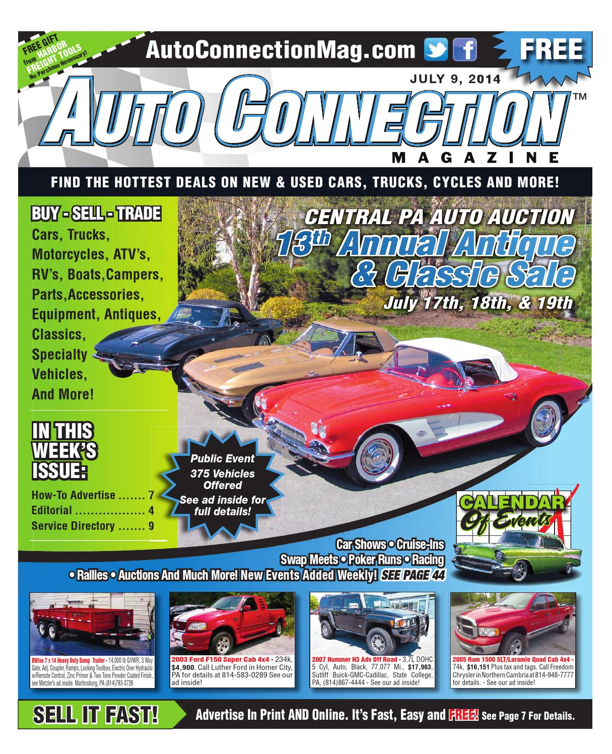 07-09-14 Auto Connection Magazine by Auto Connection