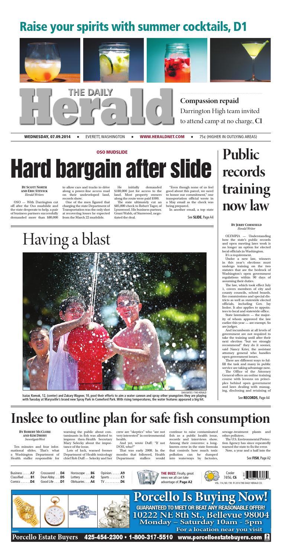 Everett Daily Herald, July 09, 2014 by Sound Publishing - issuu