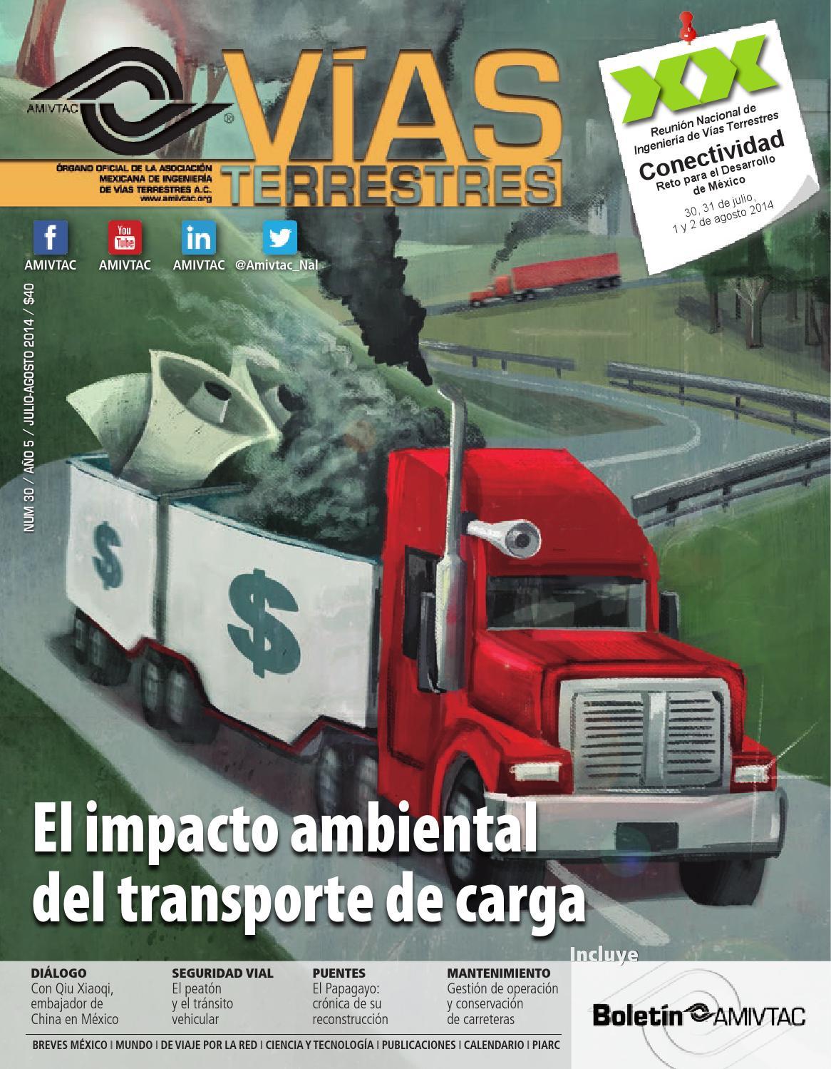 Revista Vías Terrestres 30 julio-agosto 2014 by Helios Comunicación ...