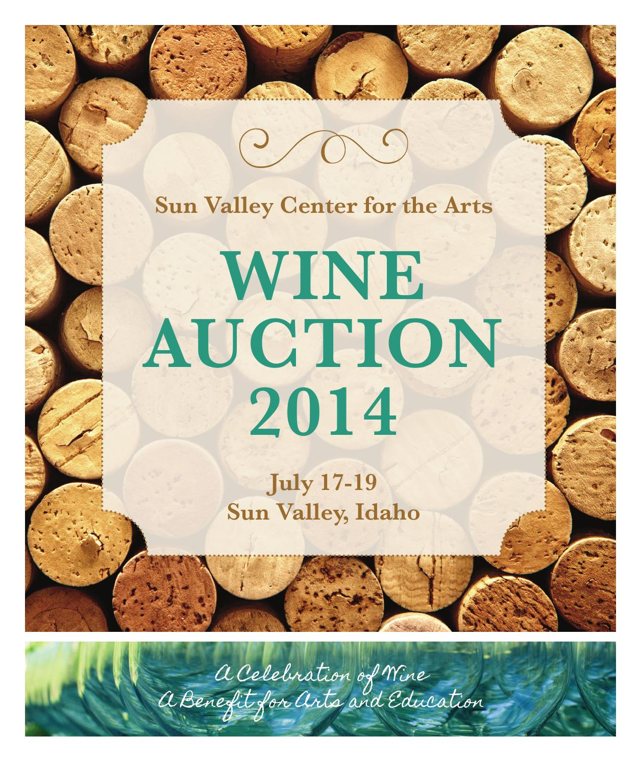 2014 Wine Auction Catalog By Sun Valley Museum Of Art Issuu