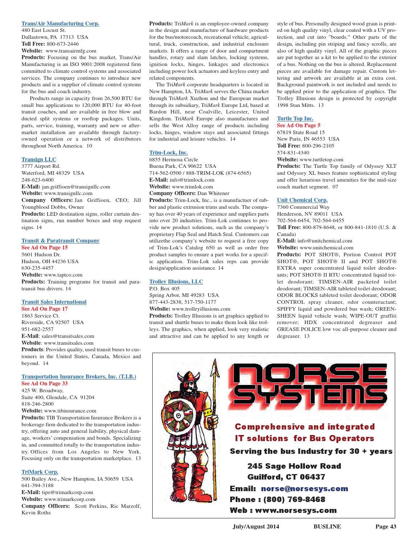 0714 Busline Magazine by Busline Magazine - issuu