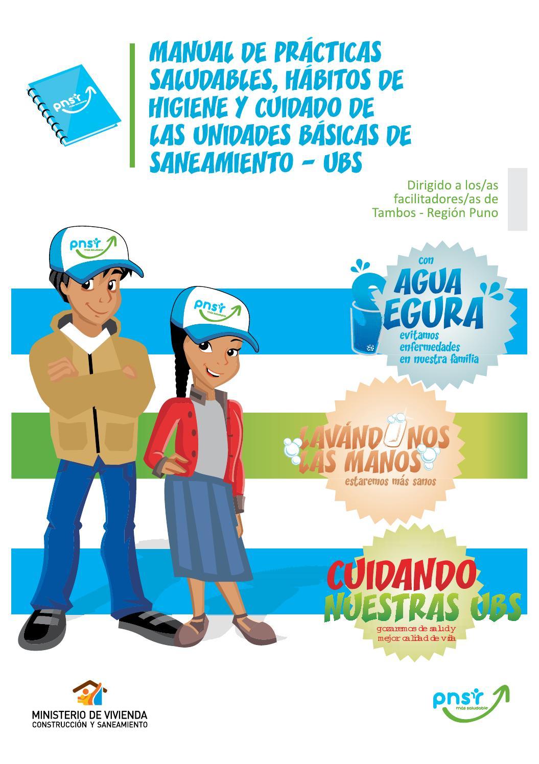 Guia pnsr tambos by programa nacional de saneamiento for Manual operaciones basicas de cocina