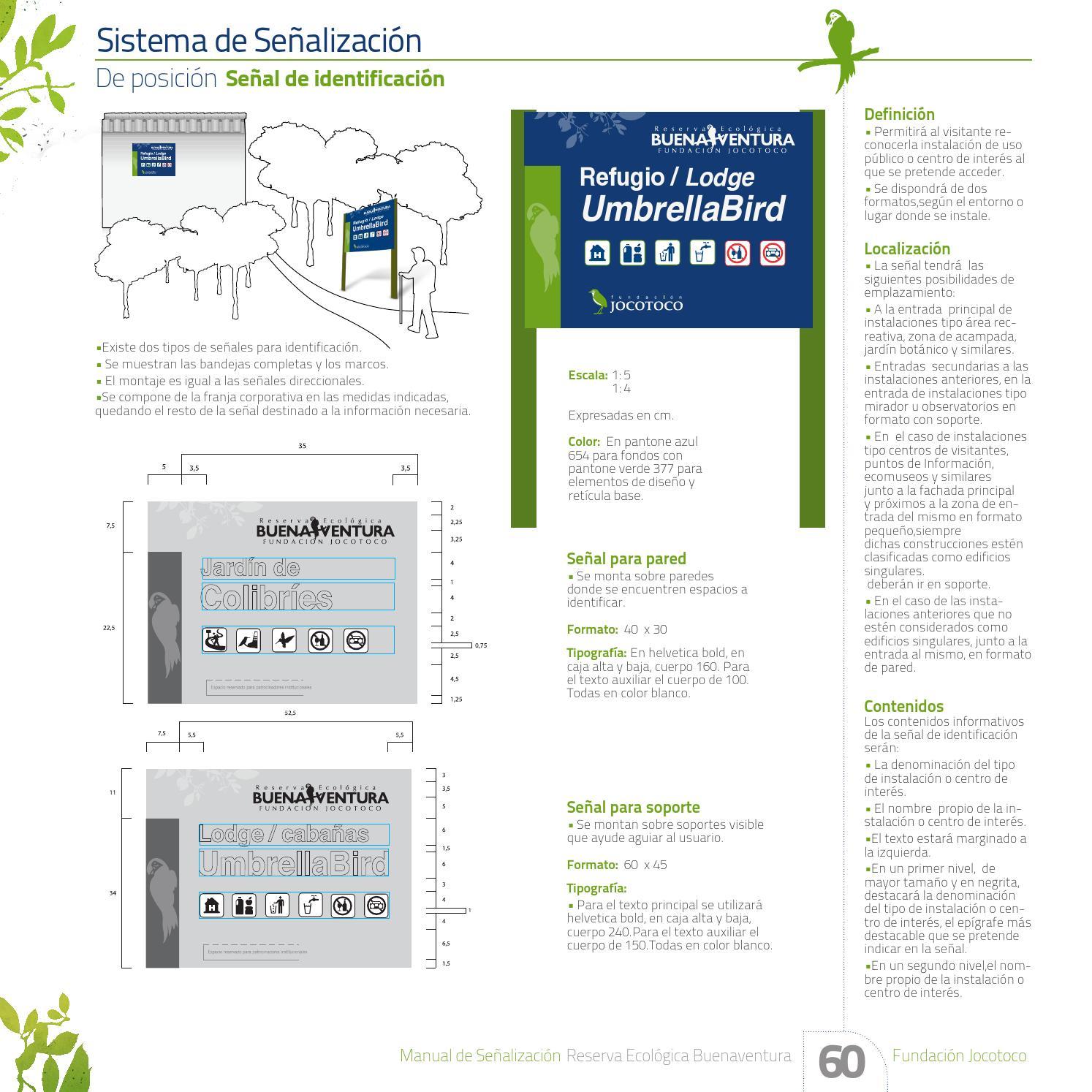 Reserva Buenaventura / Sistema Señalético by Christian Lasso - issuu