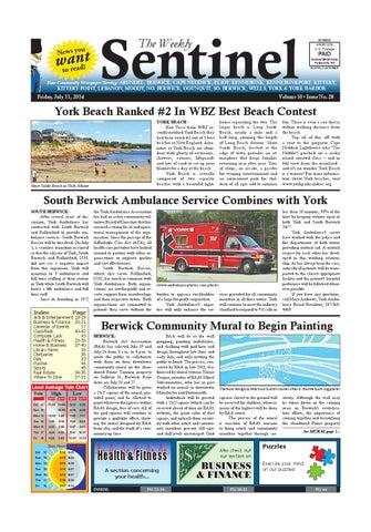 WS July 11 2014 By Weekly Sentinel