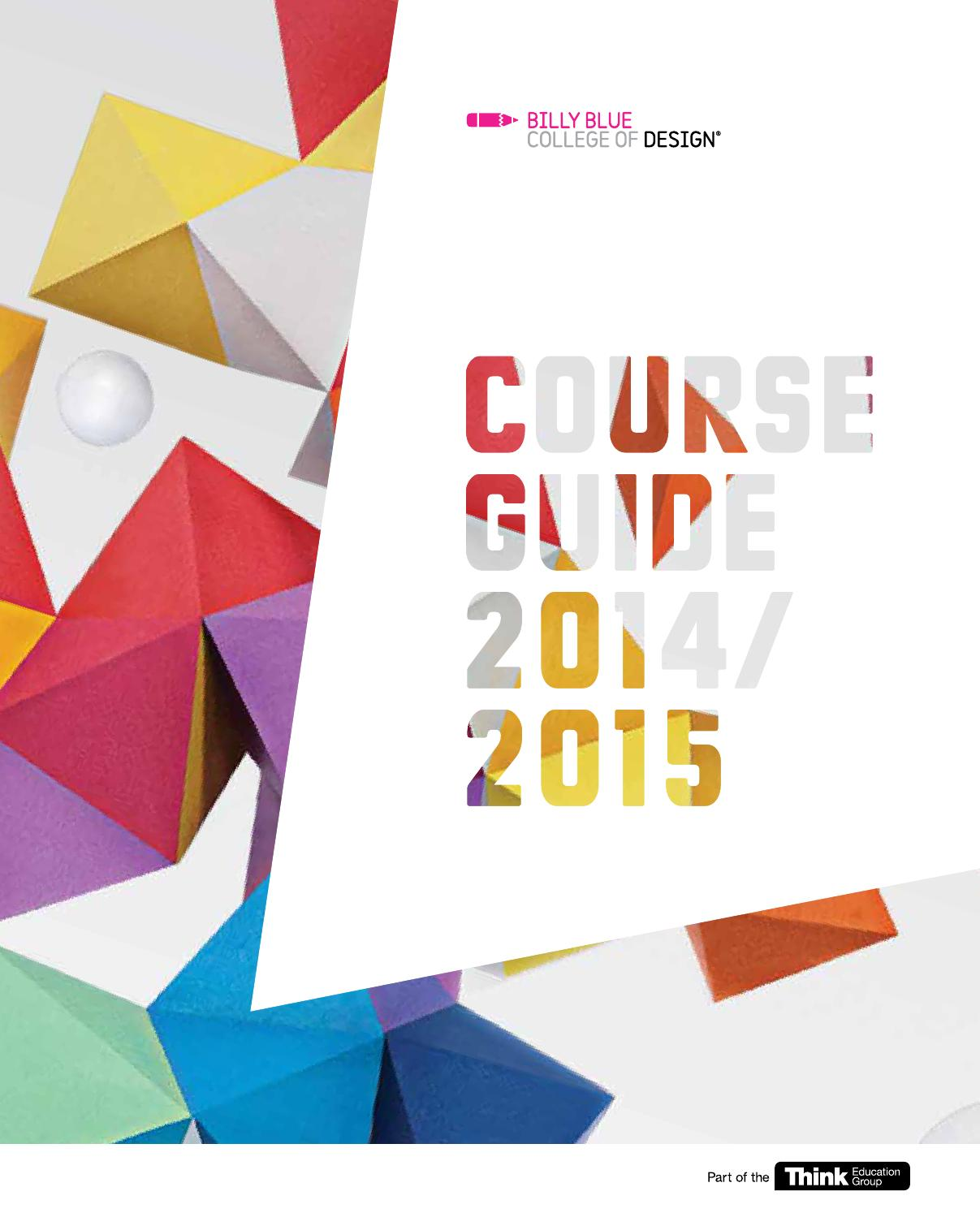 Billy Blue Graphic Design Course Cost