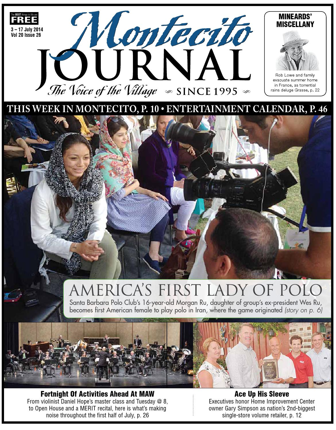 Americas First Lady Of Polo By Montecito Journal Issuu