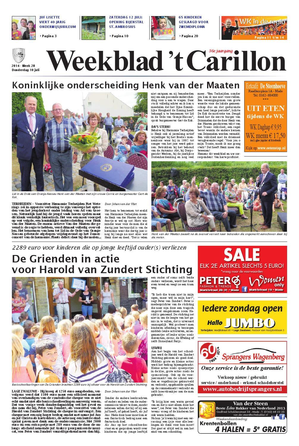 b2dd34eca30 Weekblad 't Carillon 10-07-2014