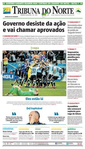 Tribuna do Norte - 10 07 2014 by Empresa Jornalística Tribuna do ... bb12384d6bbc8