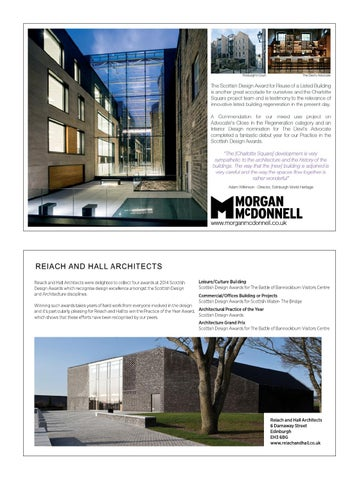 Scottish Design Awards 2014 By Urban Realm