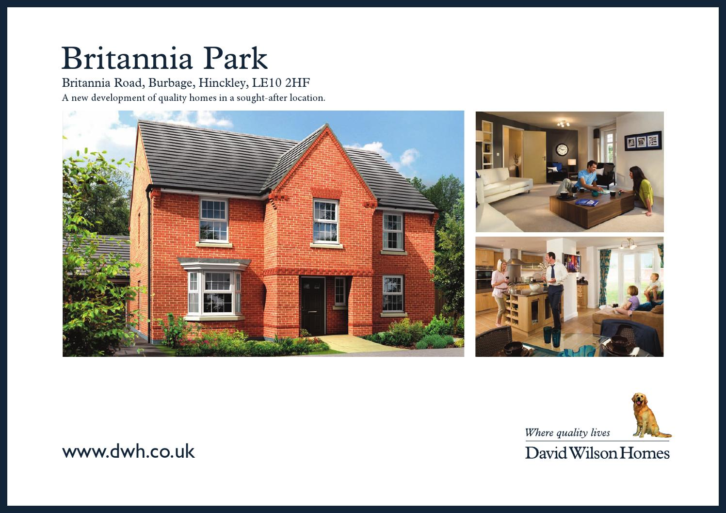David Wilson Britannia Park D W By Newhomesforsale Co Uk Issuu